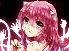 Anime Art Girl, Manga Art, Manga Anime, Yandere Manga, Diabolik Lovers, Anime Figures, Anime Characters, Mai Waifu, Psycho Girl
