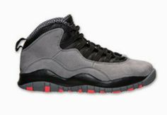 THE SNEAKER ADDICT: 2014 Air Jordan 10 Cool Grey/Infared X Retro Sneaker Available Now (Detailed Look)