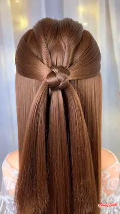 Front Hair Styles, Medium Hair Styles, Curly Hair Styles, Hairdo For Long Hair, Bun Hairstyles For Long Hair, Hair Style Vedio, Hair Extensions For Short Hair, Hair Upstyles, Hair Videos