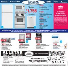 Summer #Appliance Sale   NO INTEREST OFFER From June 26 To July 6, 2015 ·  Appliance SaleKitchenaid