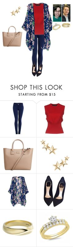 """""""Light spring style"""" by joydjschmidt ❤ liked on Polyvore featuring dVb Victoria Beckham, Dolce&Gabbana, MANGO, Kenneth Jay Lane, Christian Dior and Shaun Leane"""