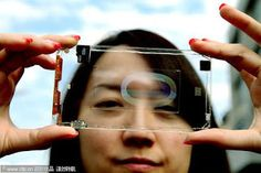 polytron unveils world's first fully transparent smartphone