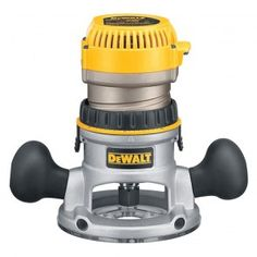 Dewalt DW616 Heavy-Duty 1-3/4 HP maximum motor HP Fixed Base Router $139.99