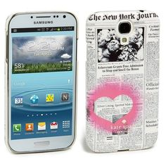 kate spade new york 'newspaper' Samsung Galaxy S® 4 Case ($27) ❤ liked on Polyvore featuring accessories, tech accessories, phone cases, phone, iphone, samsung galaxy smartphone and kate spade