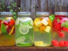 How to Make Healthy Flavored Water At Home via Greatist clean eating eat clean eat clean recipes healthy food healthy snacks healthy recipes snacks dinner recipes food Smoothie Drinks, Detox Drinks, Healthy Drinks, Healthy Snacks, Healthy Eating, Healthy Recipes, Healthy Water, Fruit Detox, Fruit Drinks