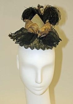 Hat Date: 1892 Culture: American or European Accession Number: C.I.46.25a, b