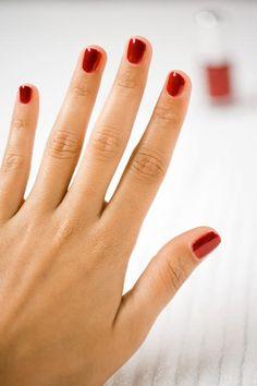DIY nail polish strips
