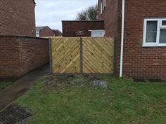 Garden Fencing, Fence, Bristol, Building, Garden Fences, Buildings, Architectural Engineering