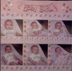 Niece's scrapbook page