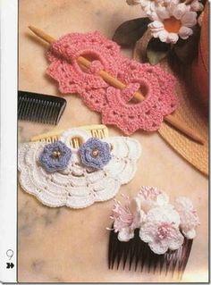 pinza para el pelo de crochet patron1
