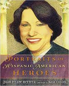 """""""Portraits of Hispanic American Heroes"""" by Juan Felipe Herrera and illustrated by Raúl Colón is a must-have nonfiction book for every middle grade classroom."""