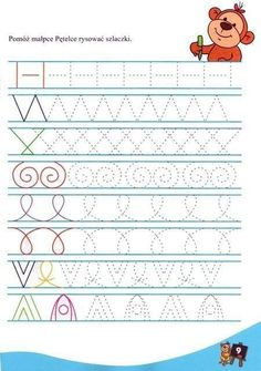 Writing exercises for preschool Craft ideas, # for # exercises # writing # ideas # handicrafts - Today Pin Preschool Writing, Preschool Worksheets, Preschool Learning, Writing Activities, Educational Activities, Preschool Activities, Teaching, Pre Writing, Writing Practice
