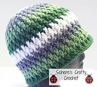 Ravelry: Totally Twisted Beanie pattern by Schere Wade of Schere's Crafty Crochet