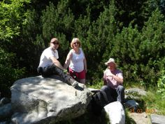 This is me. I took my mum & dad with me on a few of my expeditions. They love it :) This was on the murowaniec trail in Tatra Mountains