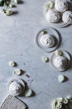 Local Milk | rose meringues