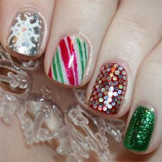 Cute Easy Christmas Nail Art Designs Ideas 2013 2014 8 Cute  Easy Christmas Nail Art Designs  Ideas 2013/ 2014