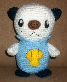(Edit 2/12/11 - I do know that the English name for this pokemon is Oshawott, but at the time the doll was made, they had not published ...