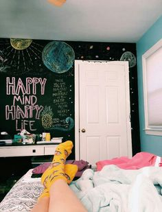 Bedroom Designer Beautiful Bedroom Decor Ideas Room Bed Design 2016 20190109 is part of Beautiful bedroom decor - Bedroom Inspo, Bedroom Wall, Girls Bedroom, Bedroom Decor, Bedroom Ideas, Hippie Bedrooms, Chalkboard Wall Bedroom, Chalk Wall, Chalkboard Paint