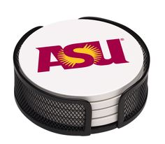 5 Piece Arizona State University Collegiate Coaster Gift Set
