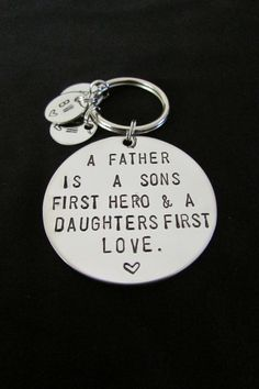 Hand Stamped Jewelry Personalized by OneHandStampingMomma on Etsy, $20.60 A future Father's Day gift