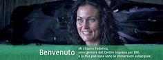 Federica, gestore del Centro Imprese per BNL con una passione per le immersioni subacquee. #BNL #BNLPeople Persona, People, People Illustration, Folk