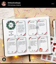 Bullet Journal School, Bullet Journal Christmas, Bullet Journal Weekly Layout, December Bullet Journal, Bullet Journal Notebook, Bullet Journal Aesthetic, Bullet Journals, Bullet Journal Gift List, Bullet Journal Months