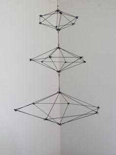 Modern Himmeli Inspired Geometric Sculpture por CharestStudios