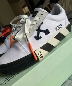 7fe36defe0d9 Sold Out Off White Vulc Low Top Sneakers. Guadalupe Bartel · Unisex Adult  Shoes