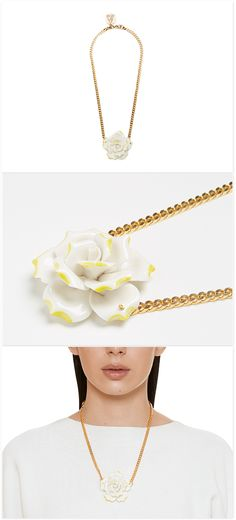 Necklace 'Single Flower'