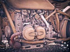 BMW R75 1942 engine