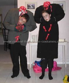 homemade halloween costumes - Homemade Halloween
