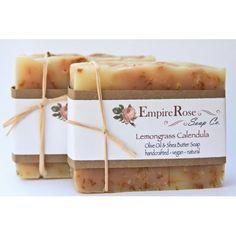 Lemongrass Calendula Soap Bar