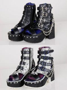 Yosuke / platform boots sandals | KERA SHOP [Kera! Shop]