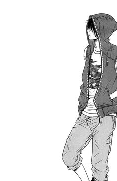 Find images and videos about boy, manga and monochrome on We Heart It - the app to get lost in what you love. Manga Anime, Sad Anime, Manga Boy, Kawaii Anime, Anime Guys, Anime Art, Vampire Boy, Suki, Comic Layout
