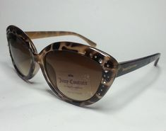 #ebay JUICY COUTURE women sunglasses Cat Eye Style With Embedded crystals Brown withing our EBAY store at  http://stores.ebay.com/esquirestore