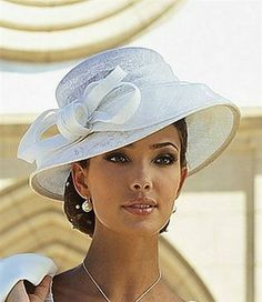 fits proportionately so very well impressive and beautiful Supernatural Style Millinery Hats, Stylish Hats, Kentucky Derby Hats, Church Hats, Fancy Hats, Wearing A Hat, Love Hat, Wedding Hats, Hats For Women