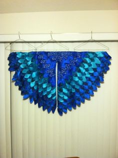 "Sophia's ""Jewel"" wings for Halloween!"