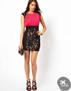 cool Renkli elbise modelleri 2014