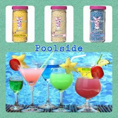 Pink Zebra Recipe: Poolside. Featuring Pool Party, Island Coconut and Fresh Juicy Pineapple