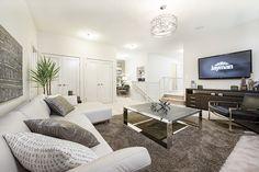 12 Unique Bonus Space Concepts for Your House Bonus Room Decorating, Decorating Ideas, Room Above Garage, Flex Room, Bonus Rooms, Neutral Colors, Colours, Family Room, House Plans