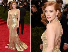 Jessica Chastain In Givenchy – 2015 Met Gala