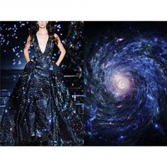 Blog ✨PHOTO & L' ART✨ • Zuhair Murad Fall 2015 • & • Space starry nebula • ________________ #LiliyaHudyakova #fashionart #ZuhairMurad #hautecouture #fashionblogger #space #galaxy #Nasa