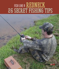 How To Fish Like A Redneck   14 Unique Fishing Tips   Survival Life