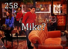 Ok seriously - I LOVE LOVE LOVE that this is how Mike & Phoebe met <3