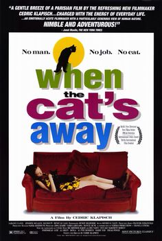"An absolutely delightful 1997 French Film.  In the search for her lost pet cat, a loner of a young girl cultivates lasting friendships. ""Featuring a dazzling Parisian backdrop and a hip, acid-jazz soundtrack. . . Wonderfully funny, touching and unforgettable."" - joe morgenstern, wall street journal."