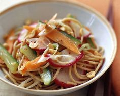 PointsPlus Sesame-Ginger Pasta Salad