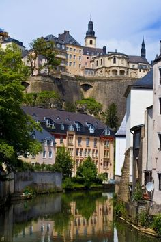 Alzette river in Luxembourg city A #trading #company in #Luxembourg must organize at least one general meeting per year.  http://www.companyformationluxembourg.com/setting-up-a-trading-company-in-luxembourg