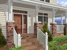 Adding Detail to Customize a Porch