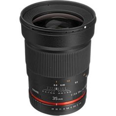Bower 35mm f/1.4 Lens for Canon $379