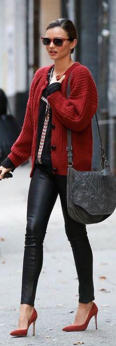 street style. Miranda Kerr